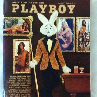 Playboy January 1972 Liv Lindeland Holiday Issue