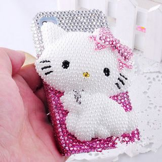 Resin Hello Kitty DIY Deco Kit For Cell Phone iPhone 4G 4S 5 Case