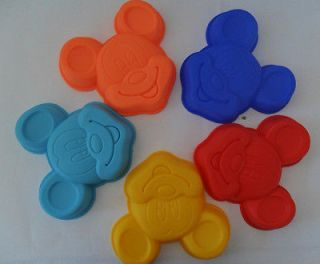 Silicone Hello Kitty Mickey Mouse Winnie the Pooh Cake Mould Mold Pan