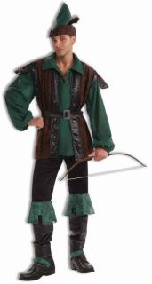 Robin Hood Halloween Costume Renaissance Medieval Outfit Adult Men