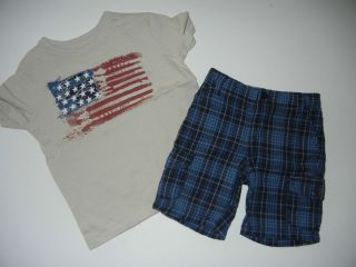 american flag shorts in Baby & Toddler Clothing