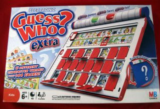 Guess Who ? Extra Board Game Electronic 6 Character Sheets 6+