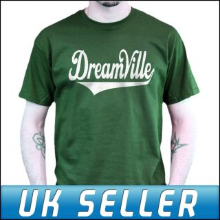 Dreamville J Cole Green T Shirt Top Shirt Mens Womens Kids Sizes