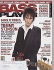 BASS PLAYER MAGAZINE TOMMY SHANNON ROSCOE BECK BLUR 97
