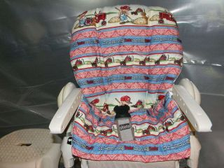 CHICCO POLLY High Chair Cover/ Farmall tractor With A Future Farmer