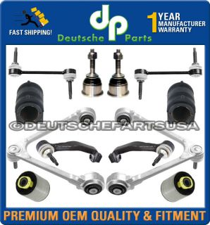 JAGUAR S TYPE UPPER LOWER CONTROL ARM ARMS BALL JOINT BUSHING Tie Rod