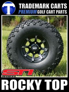 10x7 STI HD2 Golf Cart Wheels and All Terrain Tires