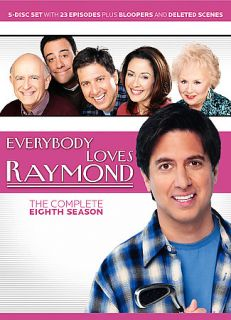 Everybody Loves Raymond The Complete Eighth Season DVD, 2007, 5 Disc