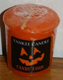Yankee Candle Halloween 2012 Candy Corn Votive New