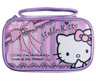 Hello Kitty Purple Carry Pouch Case Bag For Nintendo NDS Ds Lite DSi