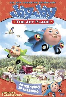 Jay Jay The Jet Plane   Adventures in Learning, Acceptable DVD, Sandy