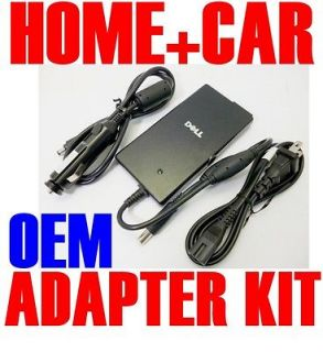 HOME + CAR KIT Genuine DELL Inspiron 14R 15R N4110 N5110 AC Adapter