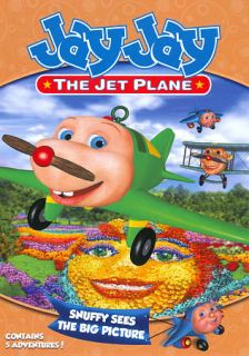 Jay Jay the Jet Plane Snuffys Big Picture DVD, 2010