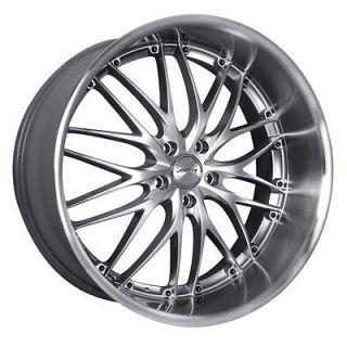 19 MRR GT1 SILVER Wheels Rims Fit INFINITI G35 G37 COUPE SEDAN FX Q45