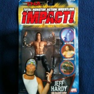 TNA Impact RARE Marvel Jeff Hardy Figure w Ladder WWF WWE MOC
