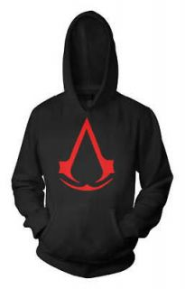 ASSASSINS CREED new brotherhood 2 3 1 xbox rare HOODIE