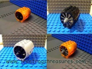 LEGO JET TURBINE ENGINE YOU CHOOSE THE COLOR *NEW* jet