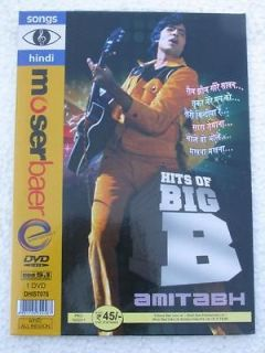 HITS OF BIG B Amitabh DVD Hindi Video Songs bollywood India