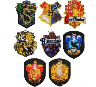 1pc Harry Potter SCHOOL Crest Iron On Patch Badge(B 3)