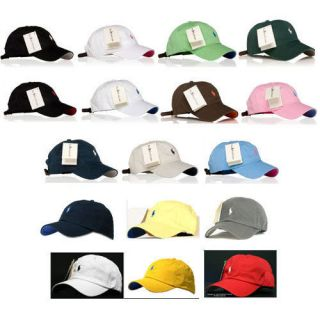 Polo Casual Outdoor Golf Sport Ball Classic Caps Hats   17 COLORS