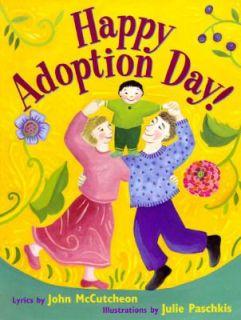 Happy Adoption Day by John McCutcheon 1996, Hardcover