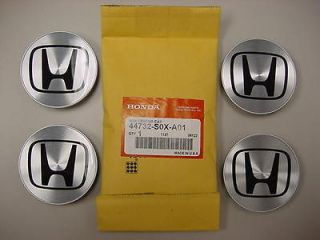 HONDA ACCORD CIVIC ODYSSEY & MORE WHEEL CENTER CAPS SET of 4 GENUINE