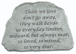 Those We Love Memorial Bereavement Stone Garden Cemetery Decor