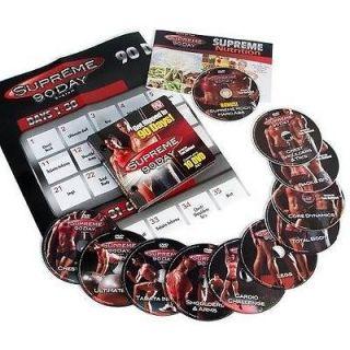 90 DAY SYSTEM 10 DVD intense & insane WORKOUT WEIGHT LOSS PROGRAM