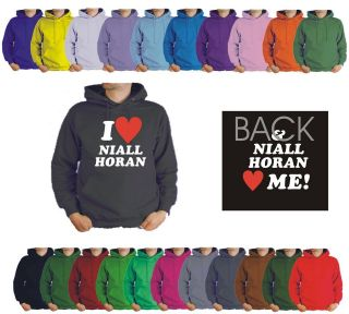 KIDS I LOVE NIALL HORAN HOODIE LOVES ME. 1 ONE DIRECTION 12 COLOURS 6