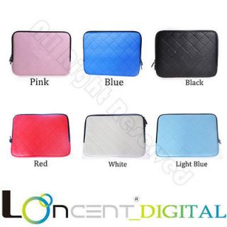 Laptop PU Leather Bag Case Sleeve For Apple Macbook Pro Air Size 11