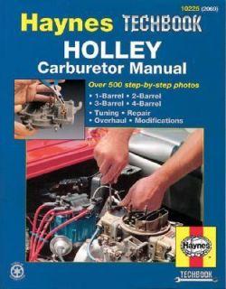 Holley Carburetor Manual by John Haynes and Mark Ryan 1994, Paperback