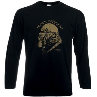 T445 The Avengers Stark Black Sabbath 1978 US Tour Long Sleeve T shirt