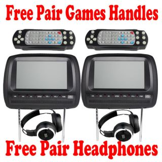car headrest dvd players in Consumer Electronics