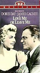 LOVE ME OR LEAVE ME DORIS DAY JAMES CAGNEY MGM VHS NEW