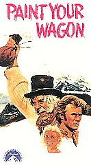 Paint Your Wagon VHS, 1997, 2 Tape Set