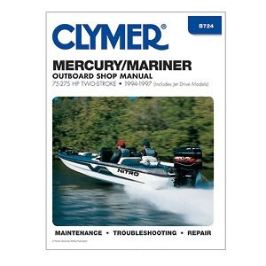 Repair Manual 75 275 HP Two Stroke Outboards & Jet Drive 1994 97