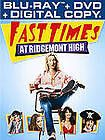 Fast Times at Ridgemont High Blu ray DVD, 2012, 2 Disc Set, Includes