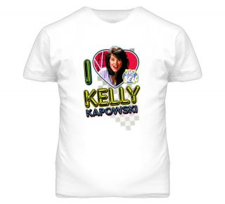 Love Kelly Kapowski Saved By The Bell Retro Tv Show T Shirt