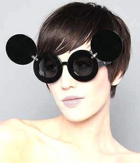 New Sunglasses Lady Mickey Mouse Gaga Paparazzi Flip Up Shades Super
