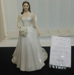 doulton figrine catherine royal wedding day hn5559 kate middleton