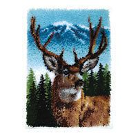 Caron Classics Latch Hook Kit   Deer