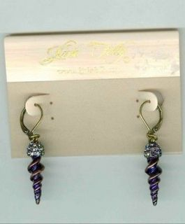 Kirks Folly Magic of the Unicorn Horn Earrings Boxed