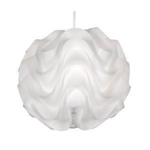 Akari Non Electric Ceiling Light Lamp Shade White Plastic Oaks