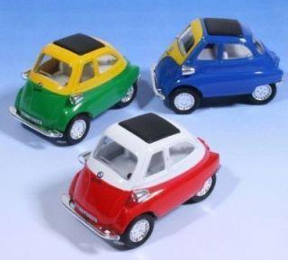 BMW Die Cast 138 Toy Car Isetta Bubble Xmas Gift 60s Twiggy Mods