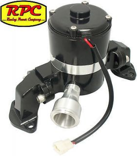 SBC Chevy Small Block Electric Water Pump Kit, Billet, High Volume