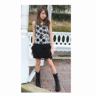 Elisa B by Lipstik girls designer teen sequin dots dress for parties