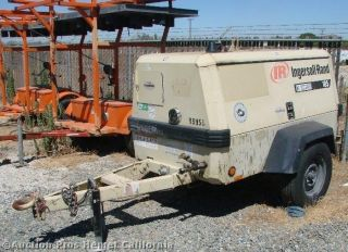 Ingersoll Rand Diesel Air Compressor P185WIR 185 Cfm