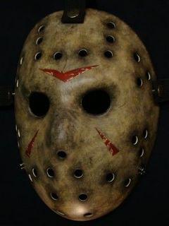 Fiberglass Jason Hockey Goalie Mask (Remake Barn) Halloween Christmas