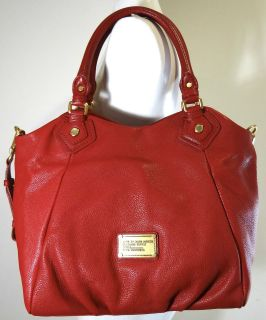 MARC BY MARC JACOBS Classic Q Fran Red Leather Shoulder bag
