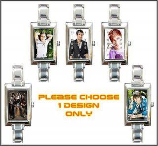 New Big Time Rush BTR Boy Band Charm Watch *5 Designs*